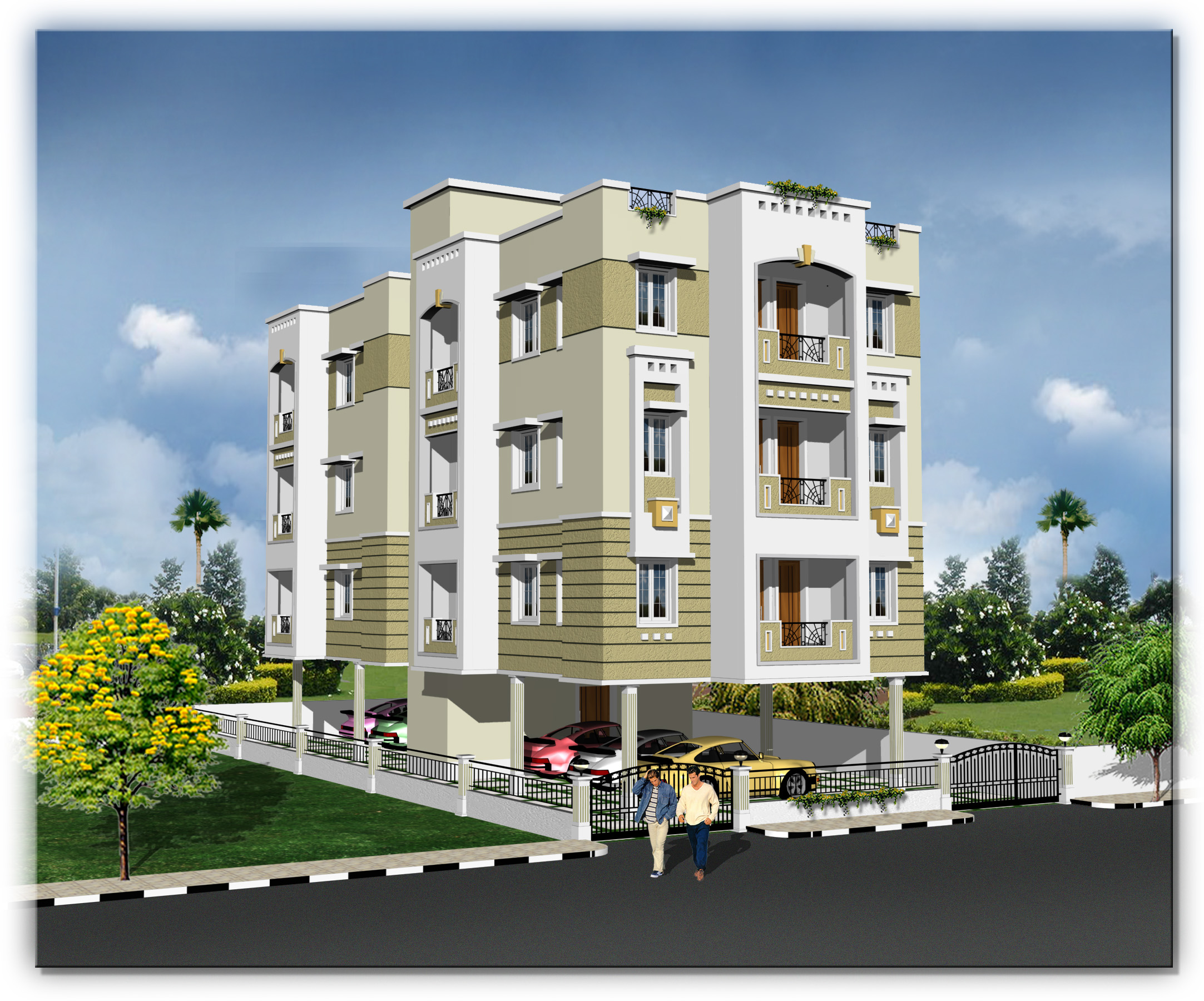 Apartments flats sale padi near mogappair golden flats for Apartment plans for sale